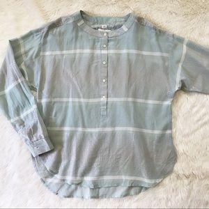 LOFT • the softened shirt popover NWOT